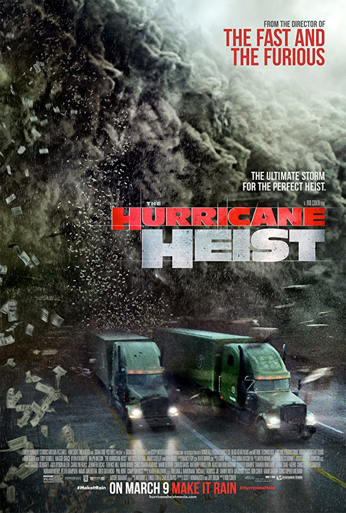 The Hurricane Heist 2018 HDRip x264