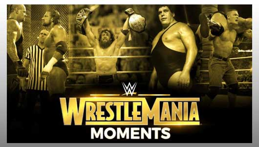 wrestlemania moments