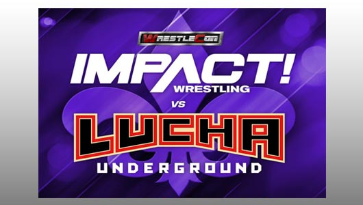 watch wrestlecon impact wrestling vs lucha underground