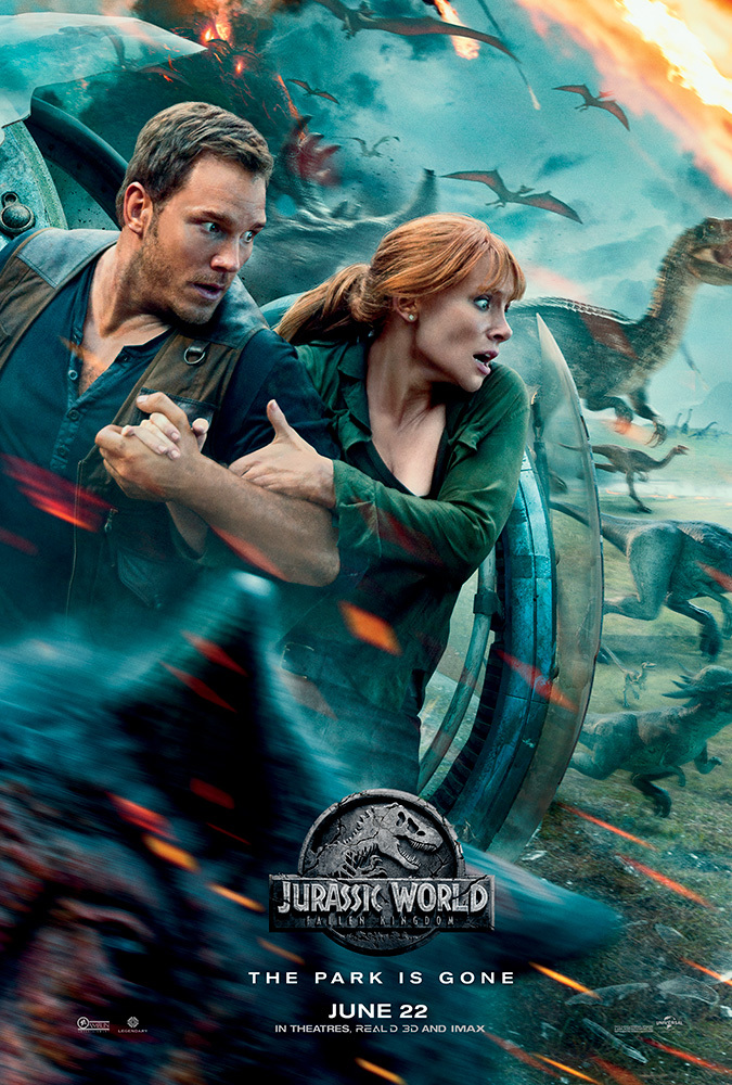 Jurassic World Fallen Kingdom 2018 NEW Proper 720p HC TS