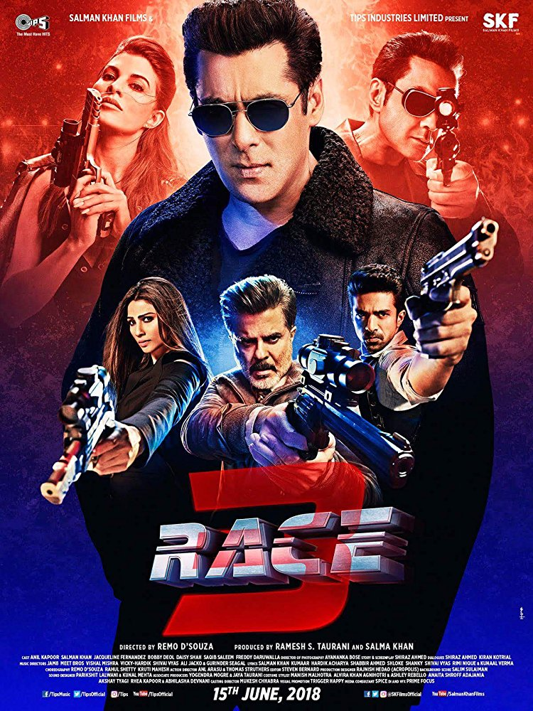 Race 3 2018 Hindi PDVDrip x264