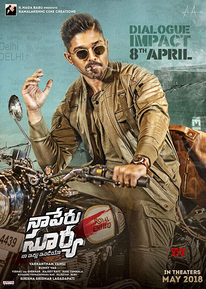 Naa Peru Surya 2018 Hindi Dual Audio HDRip x264