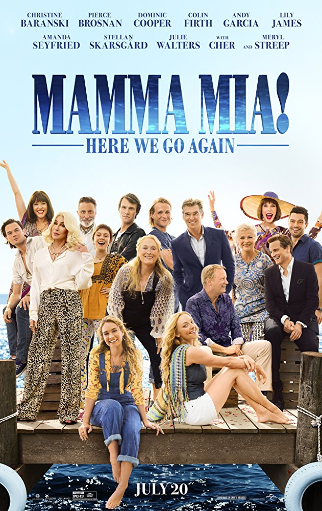 Mamma Mia Here We Go Again 2018 HDRip x264