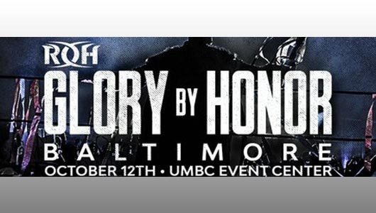 ROH Glory by Honor Baltimore 2018