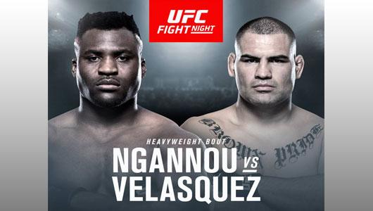 Ngannou vs Velasquez